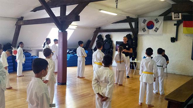 Kurs Kinder Taekwondo