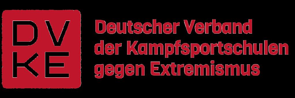 DVKE Logo Deutscher Verband der Kampfsportschulen gegen Extremismus