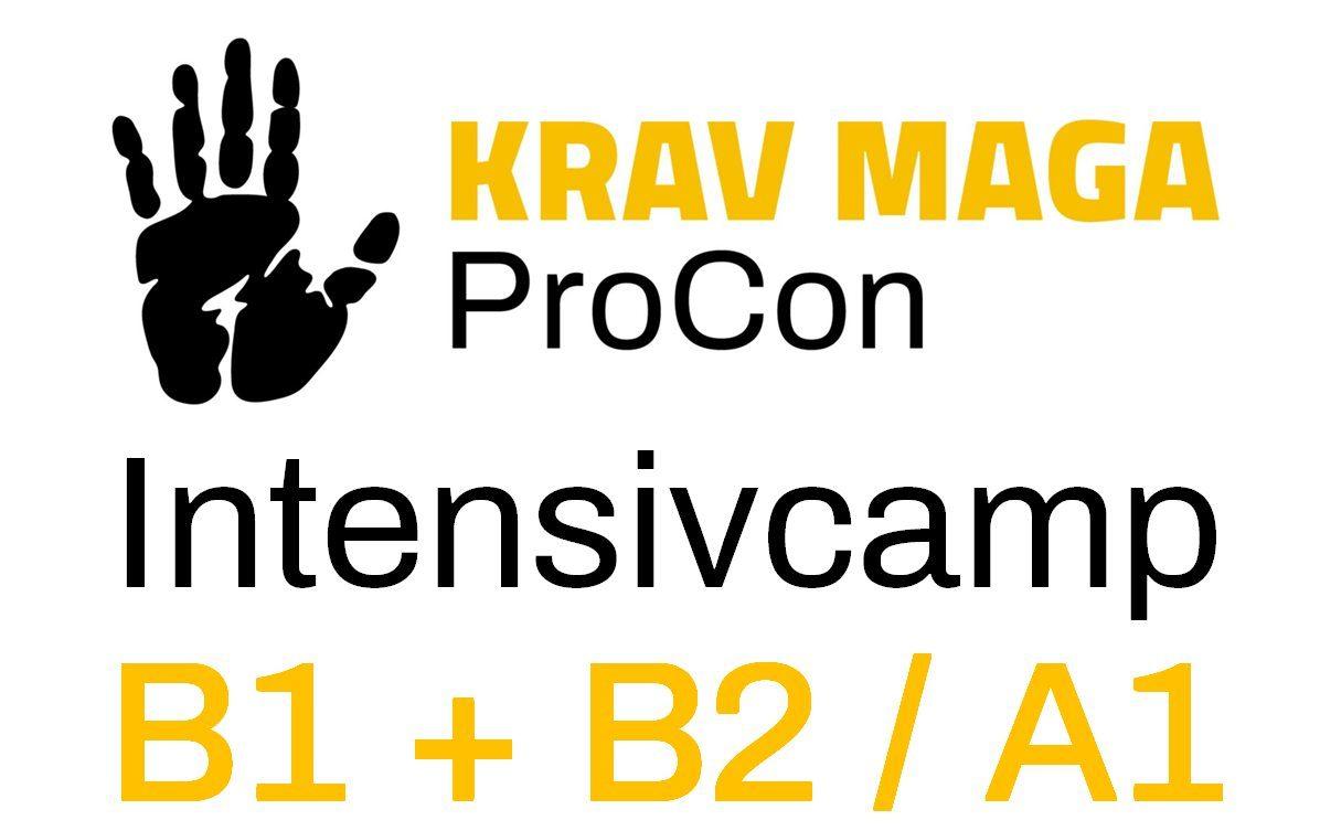 KRAV MAGA ProCon INTENSIVCAMP BASIC 1 + BASIC 2 / ADVANCED 1